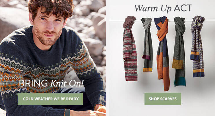 UK - A - Shop Knitwear & Shop Scarves