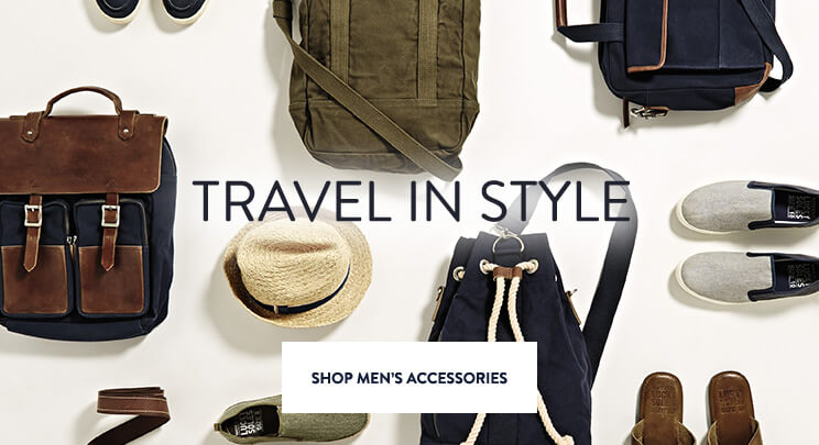 UK - Promo 1 & 2 - Shop Men's Accessories