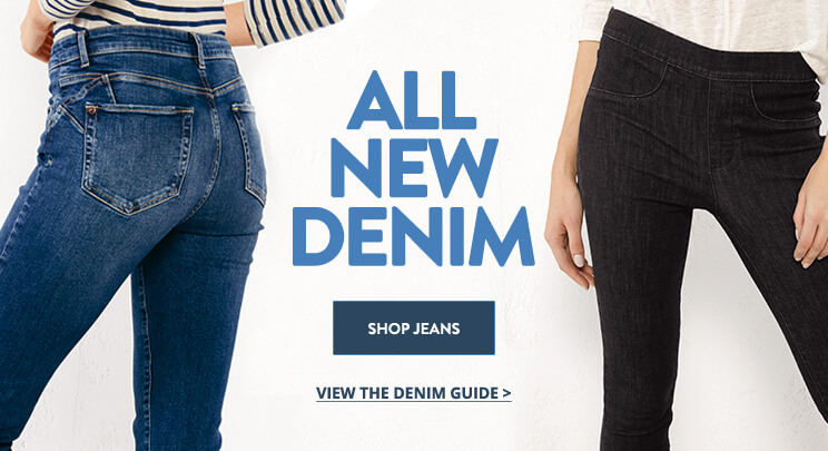 UK - B - Banner 2 - Shop Women's Denim