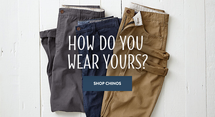 UK - B - Banner 1 - Shop Men's Chinos