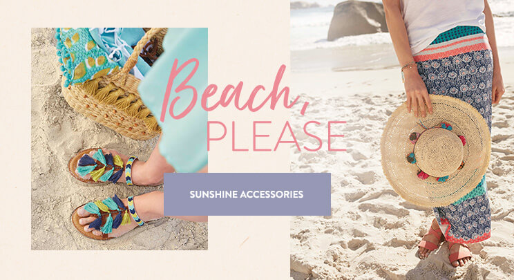 UK - B - Banner 1 - Shop Women's Beach Accessories