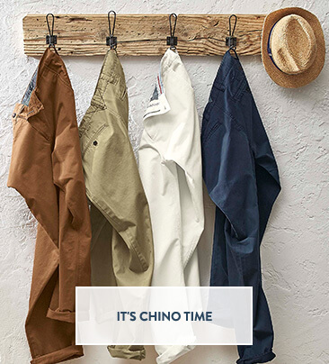 UK - A - Slot 2 - Shop Men's Chinos