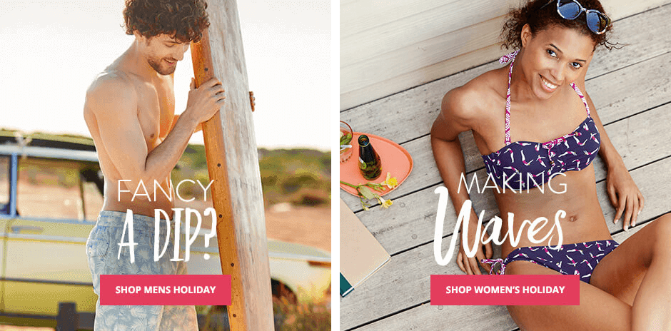 Shop Men's Holiday, Shop Women's Holiday