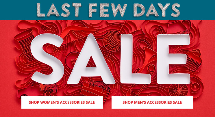 EN - WK1717 - Shop Women's & Men's Accessories Last Few Days