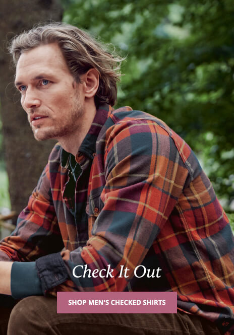 UK - A - Shop Men's Checked Shirts