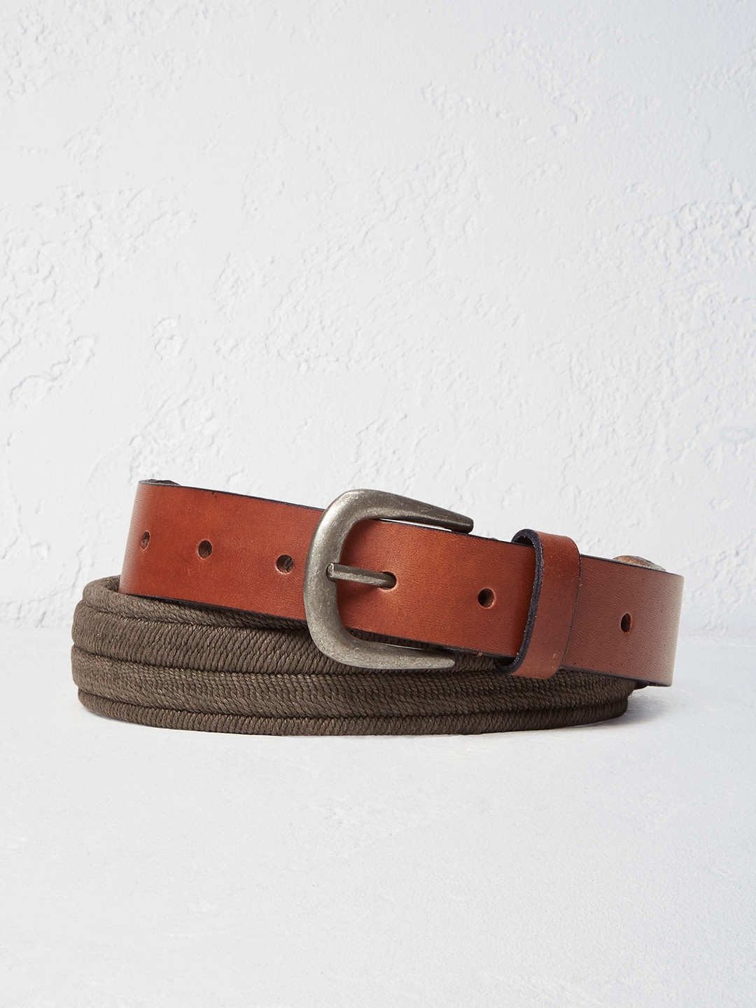 1GB Elastic leather belt