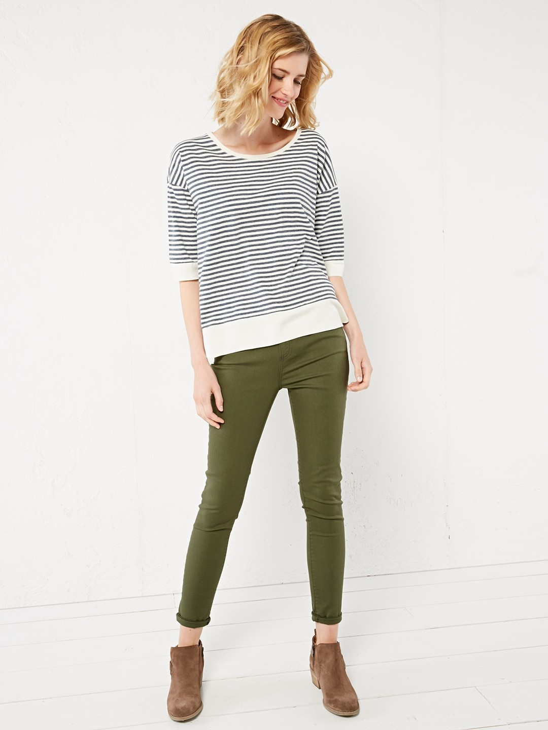 Christy coloured skinny jean