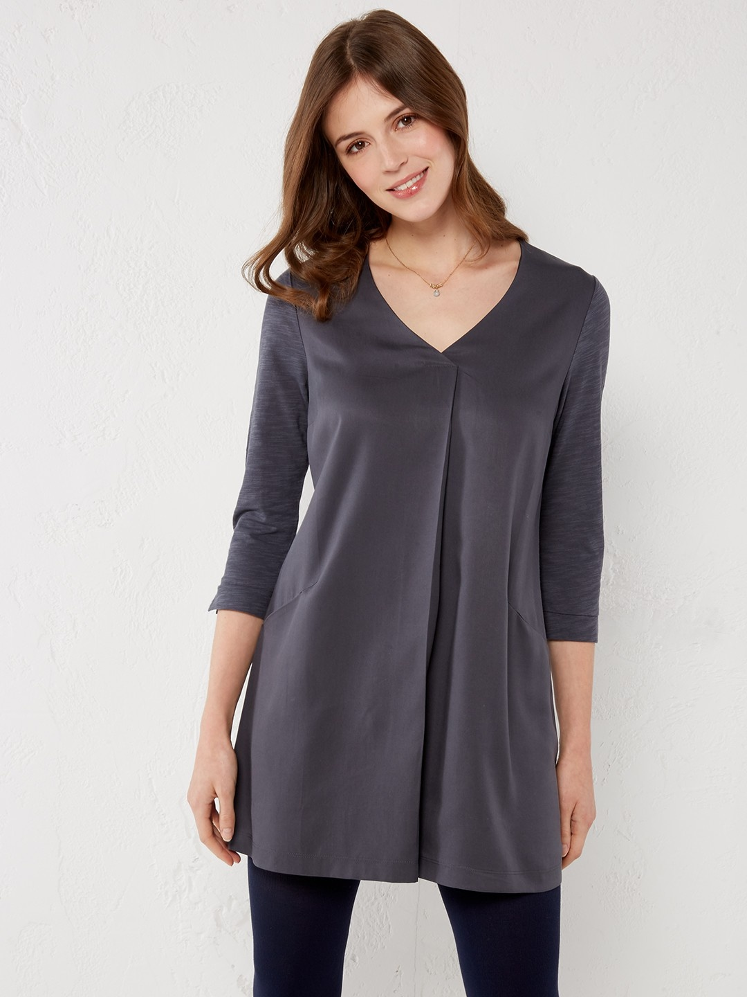 Lolly tuck  front jersey tunic