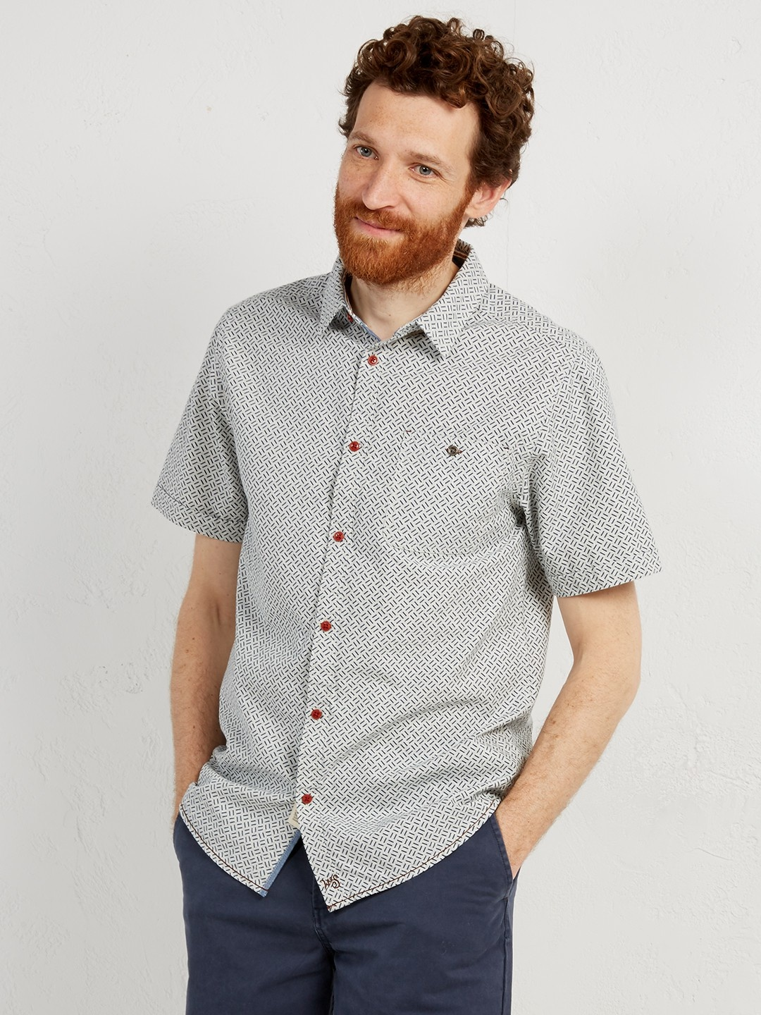 Rambling crosshatch shirt