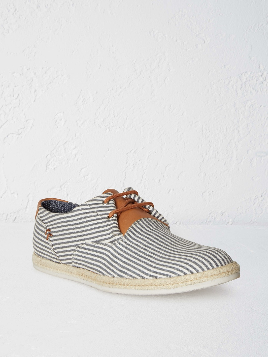 mens stripe espadrille shoe s shoes white stuff