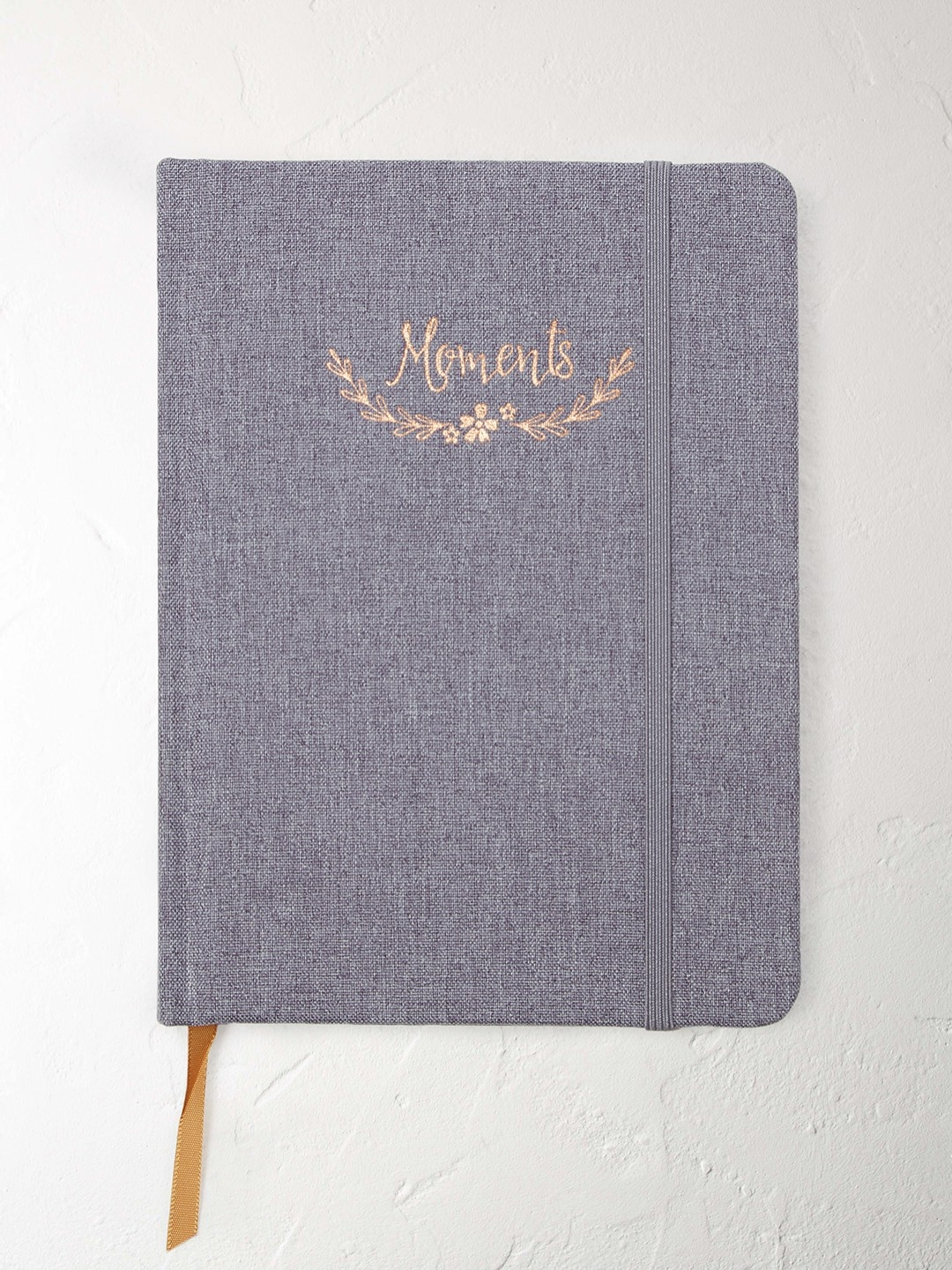 Floral cloth moments notebook