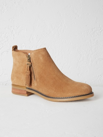 Hoxton zip ankle boot