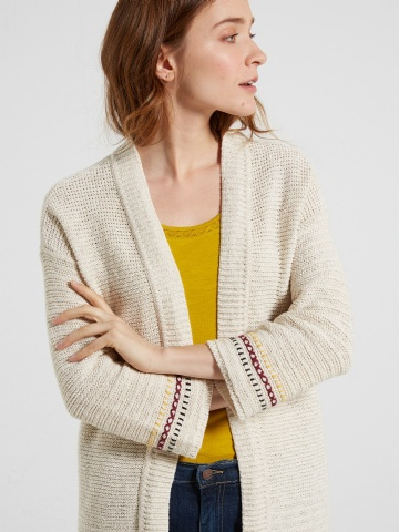 Entwined cardigan
