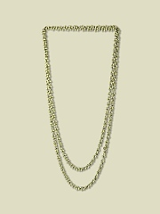 MOSSY BEAD NECKLACE