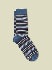 COTTON SERGIO STRIPE SOCK
