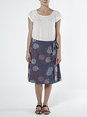 MIMMO WRAP SKIRT