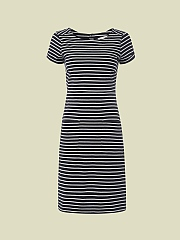 LOVE ME STRIPE JERSEY DRESS