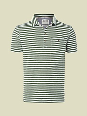 SUN STRIPE POLO